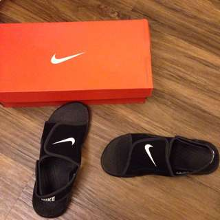 NIKE拖鞋(含盒)