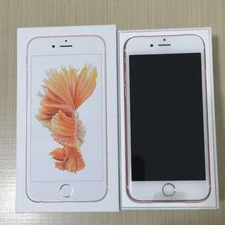 iPhone 6s 16G 玫瑰金
