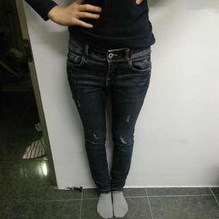 韓國 SPAO 牛仔褲