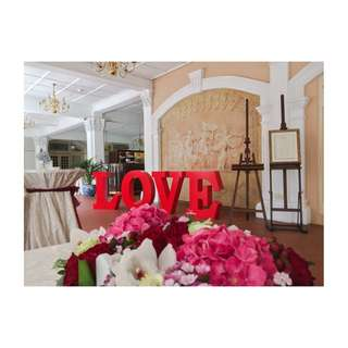 For RENT: 3D Lettering - LOVE