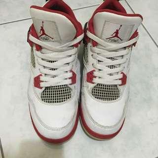 喬丹 4代 紅白