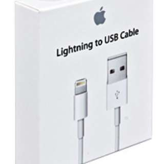 Apple Authentic Original Lighting Data Charging Cable
