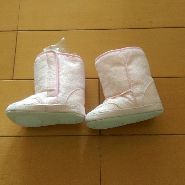 韓版全新嬰兒學步靴,戶外鞋,嬰兒雪靴