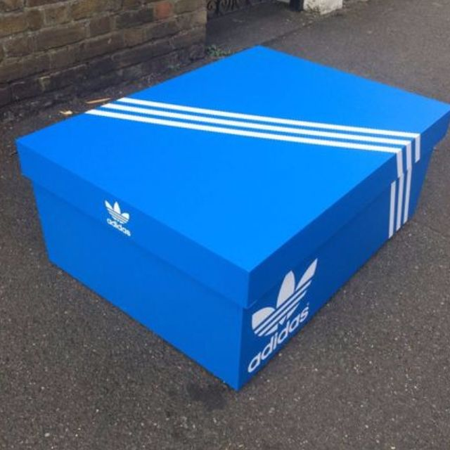 brand new fd034 e3704 Adidas Shoe Storage box, Furniture on Carousell