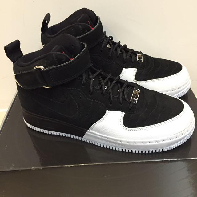 Air Jordan Force Fusion XII / AJF 12 Playoff Black/white 黑白 球鞋