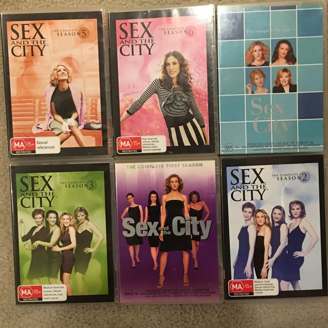All 6 Seasons Of Sex And The City - DVDS