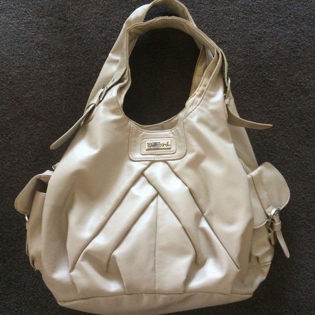 Bluebird Tan Handbag