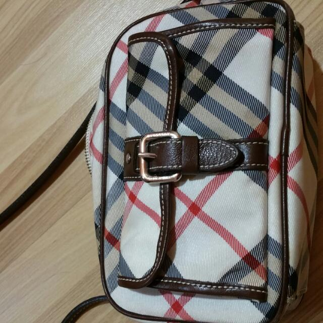 Burberry Blue Label Sling Bag - Authentic, Luxury on Carousell ba6d2dbca9