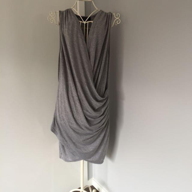 Draped Top/Mini Dress