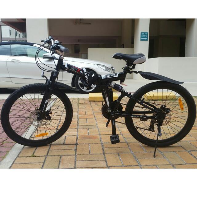 Folding Mountain Bicycle