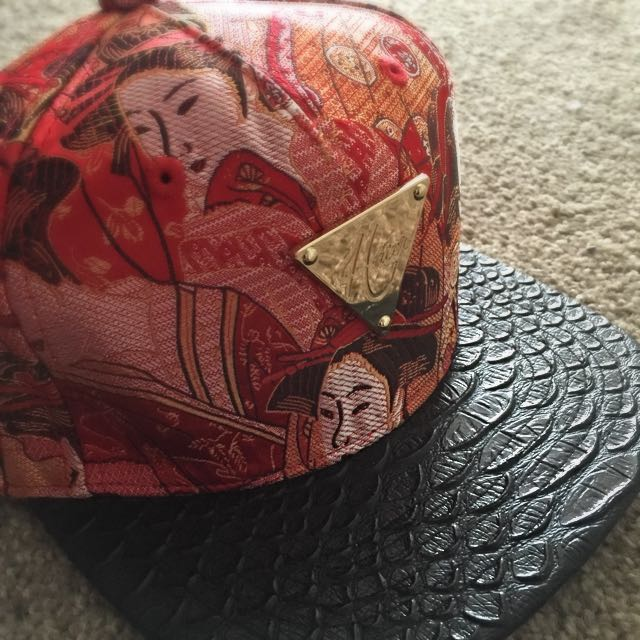 For Him, Hater SnapBack, Leather, Stitch Work