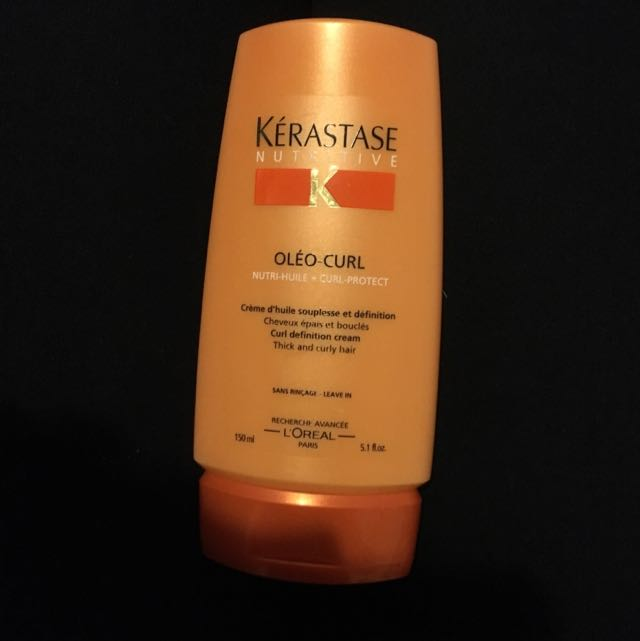 Kerastase Oleo Curl Leave In Hair Conditioner
