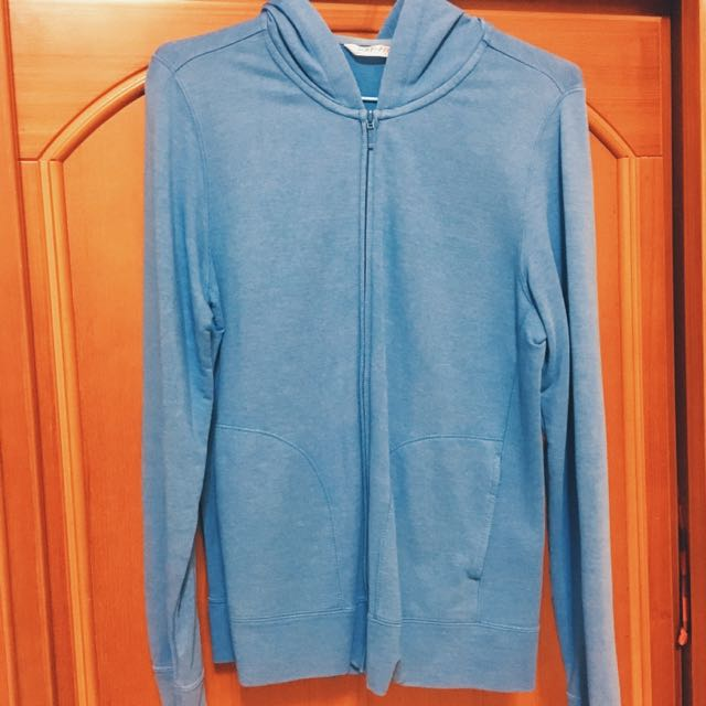 免運💲Lativの防UV藍色薄外套