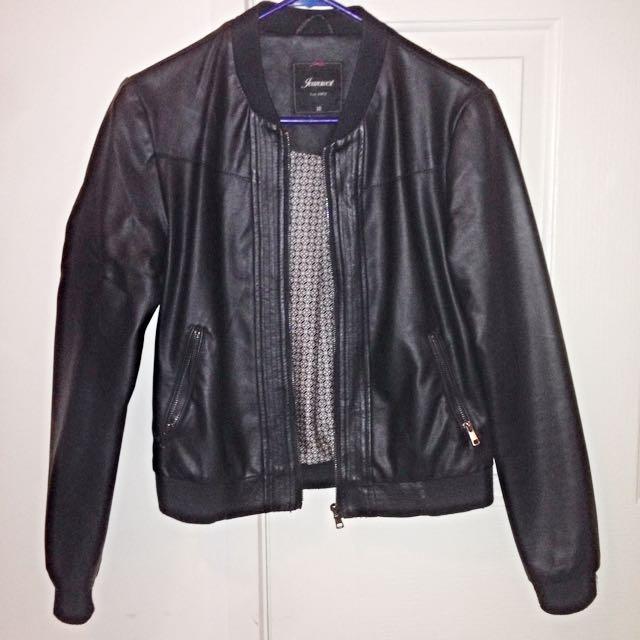 Leather Jacket - Jeans West