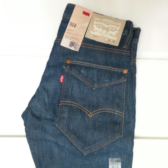 2510128a Levi's 514 Men's Jeans, Men's Fashion on Carousell