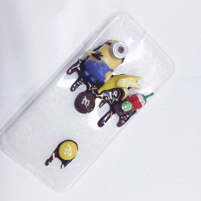 Minion Decoden Case For Iphone 6/6s