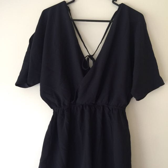 Play suit Navy