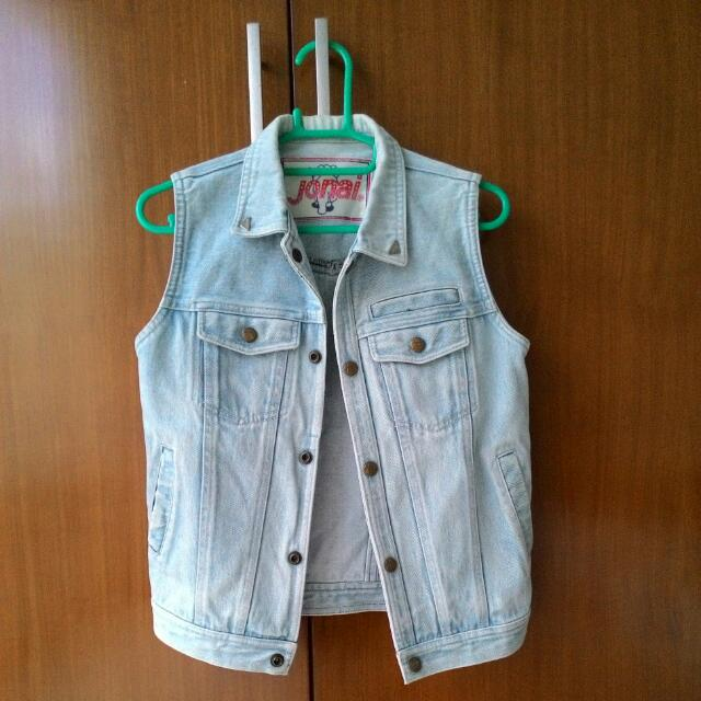 Preloved Imported Jeans Vest