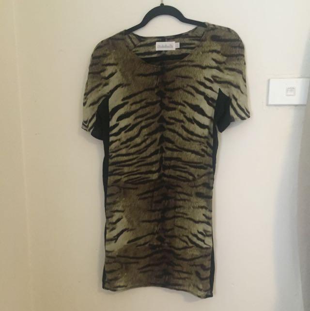 Shakahatchi Silk Shift Dress Size 6