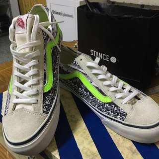 Vans X Stussy 聯名款 男生帆布鞋