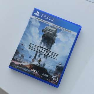 Preowned Star Wars Battlefront PS4 R3