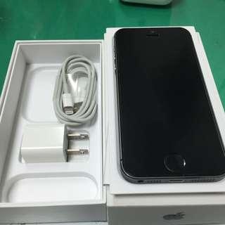 iPhone 5s 32G 黑色 全機無傷