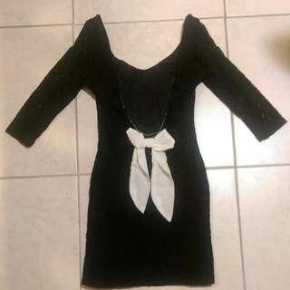 Bow Lace Dress