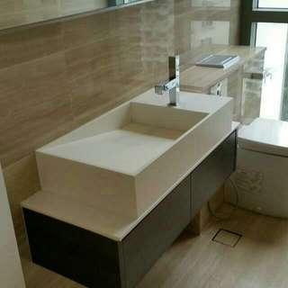 Customised Designer Solid Surface Sink/Basin