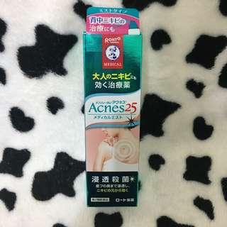 日本 曼秀雷敦 Acnes25 抗痘噴霧 背部 小護士