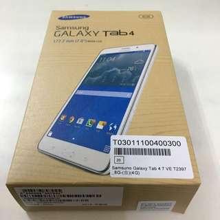 samsung Galaxy tab4 8g 全新未拆封免運費
