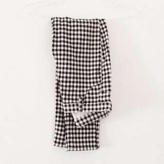 Uniqlo checkered jeggings