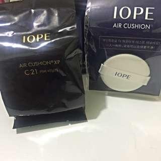 IOPE C21 補充包 送粉撲