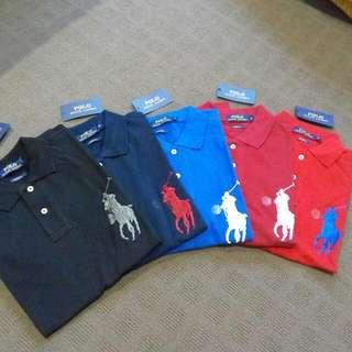 Ralph Lauren Short Sleeve Polos (Big Pony)