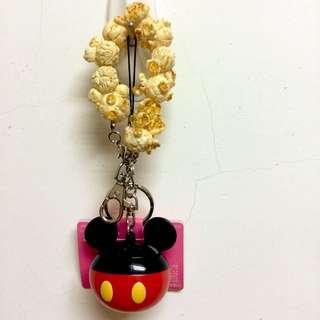 東京迪士尼 米奇爆米花吊飾