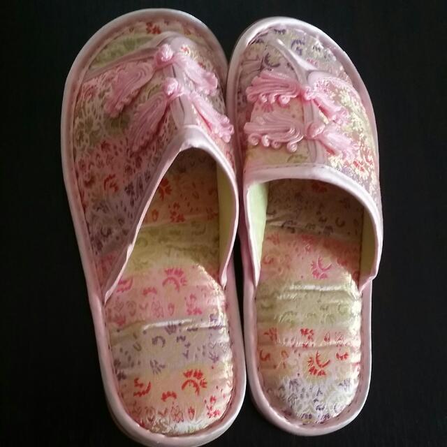 復古室內拖鞋