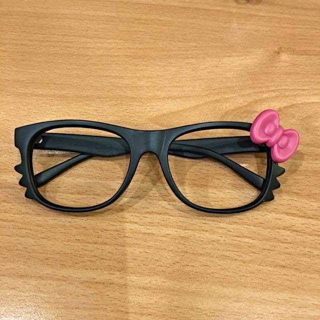 凱蒂造型眼鏡❤️
