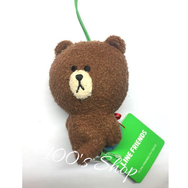 (全新)熊大吊飾藏禮物版