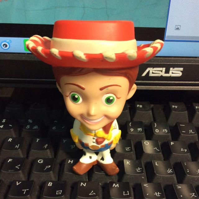 玩具總動員 翠絲 大頭公仔
