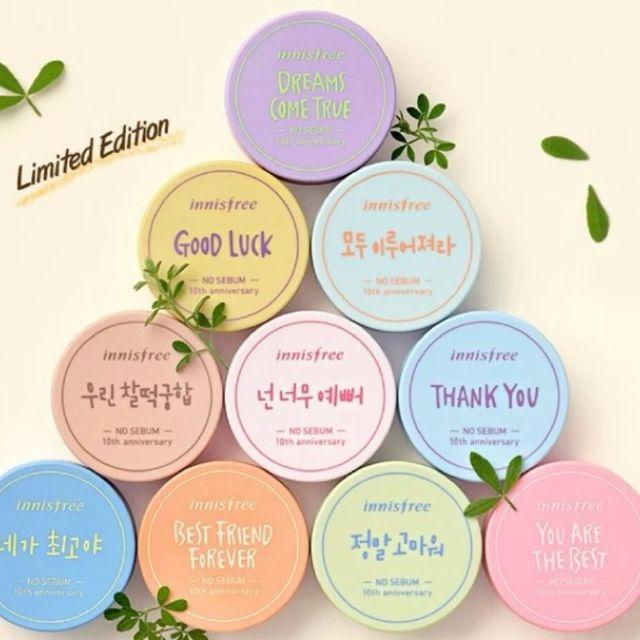 正韓 韓國連線 代購 innisfree 少女時代 限量 控油蜜粉 粉餅 4/17截止