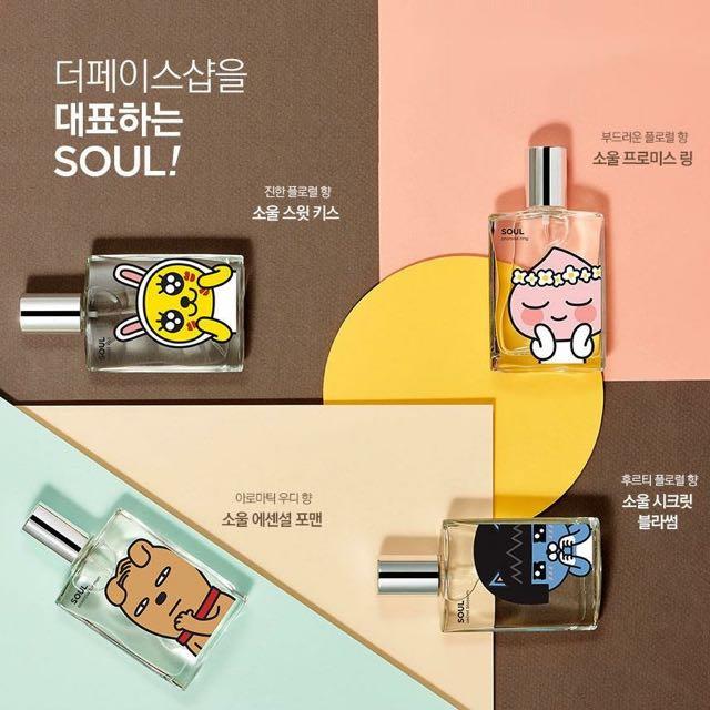 🇰🇷 韓國預購商品 ☢  The Face Shop X KAKAOTALK  香水