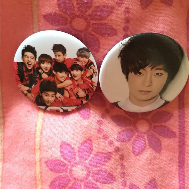 Big Bang And Got 7 Kpop Badge