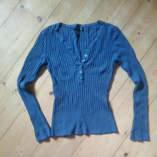 Blue Top Size S