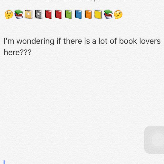 BOOK LOVERS 🤔📚📚
