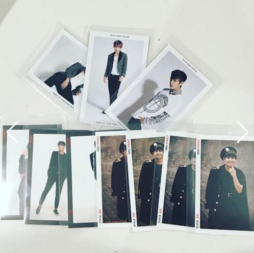 Bts V Taehyung Photocards