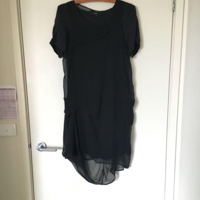 Claude Maus Layered Two Piece Dress