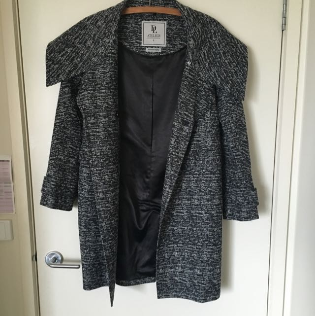 David Laurence Tweed Coat
