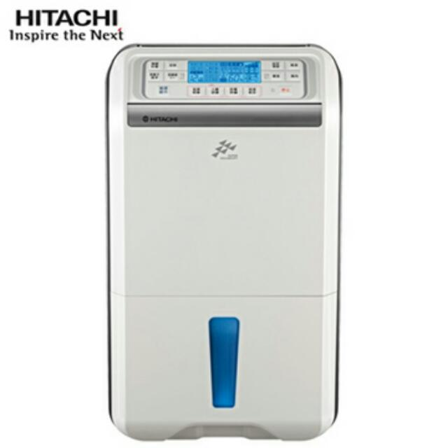 HITACHI日立FUZZY感溫適濕負離子清淨除濕機 RD-360DS(晶鑽銀)