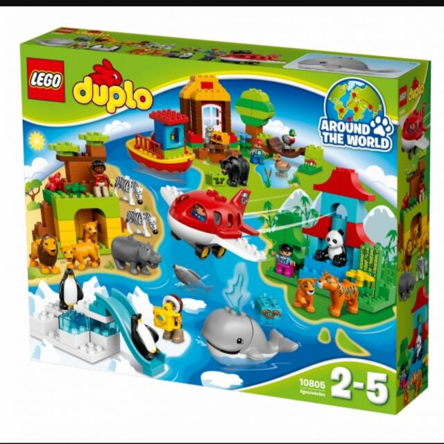 Lego Duplo Around The World 10805 Toys Games On Carousell