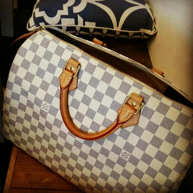 Louis Vuitton Speedy 35 Mint Condition