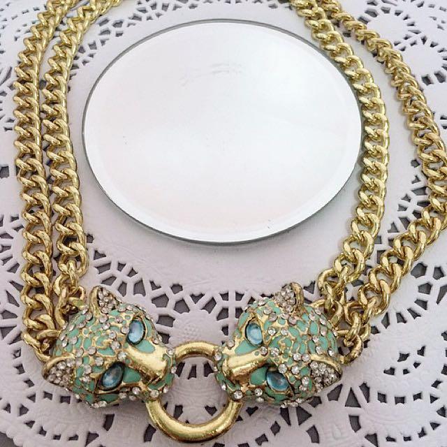 Lovisa Cheetah Chain Necklace